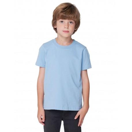 2105W American Apparel 2105W Toddler Fine Jersey Short-Sleeve T-Shirt BABY BLUE