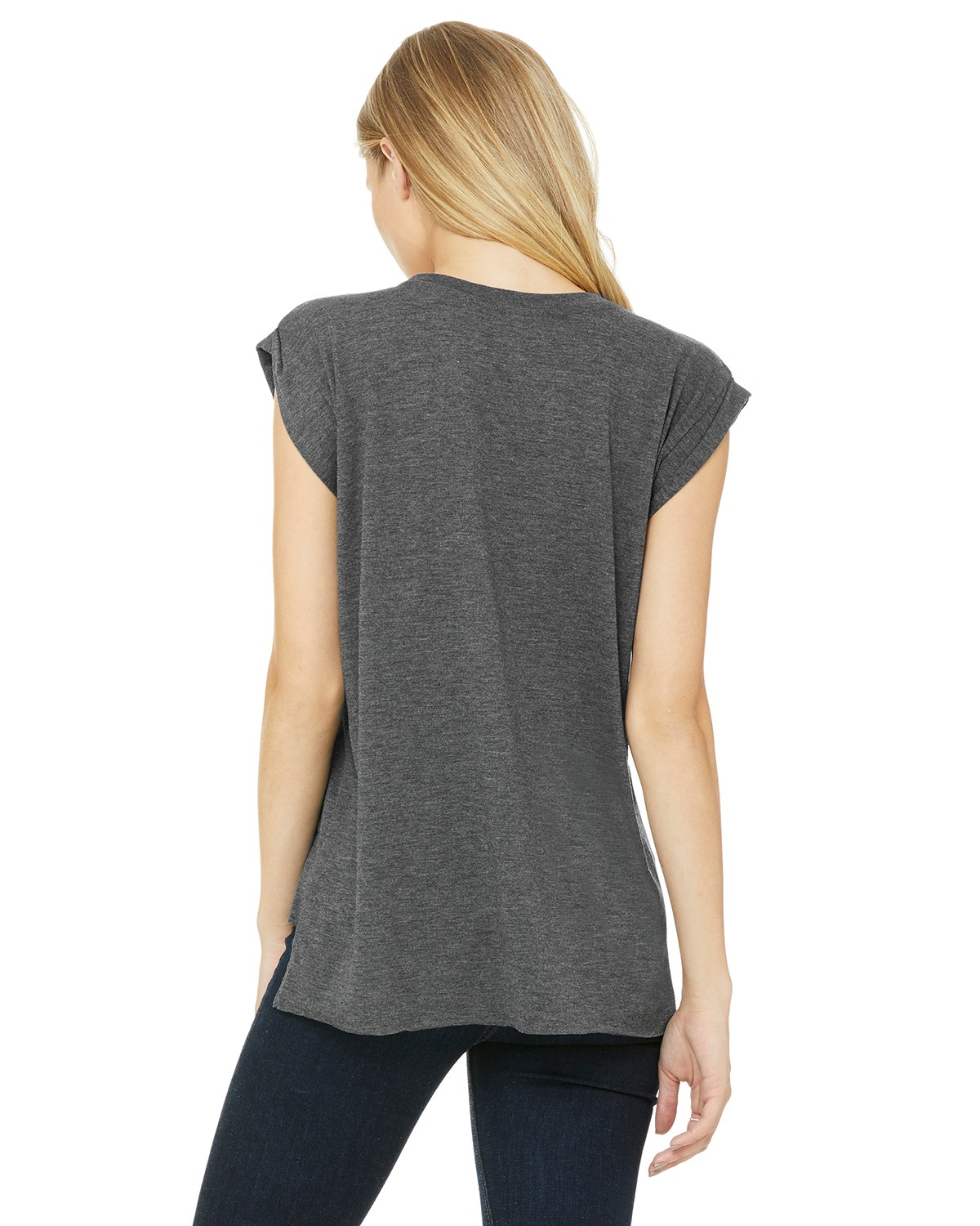 8804 Bella + Canvas DARK GRY HEATHER