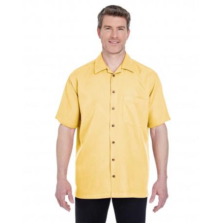8980 UltraClub 8980 Men's Cabana Breeze Camp Shirt BANANA