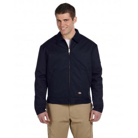 JT15 Dickies JT15 Men's 8 oz. Lined Eisenhower Jacket DARK NAVY