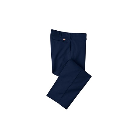 LP812 Dickies LP812 Men's 7.75 oz. Industrial Flat Front Pant DARK NAVY 40