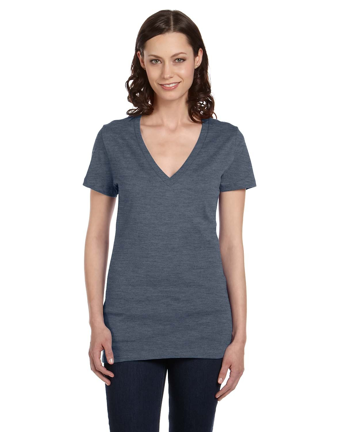 B6035 Bella + Canvas DEEP HEATHER