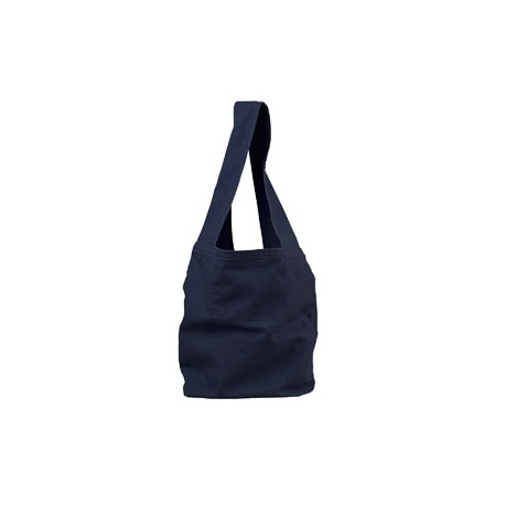 1911 Authentic Pigment 1911 12 oz. Direct-Dyed Sling Bag DEEP NAVY