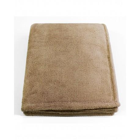 STV5060 Pro Towels STV5060 Soft Touch Velura Throw Kanata Blanket BEIGE
