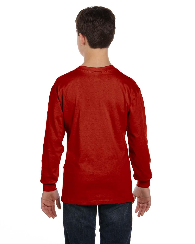 5546 Hanes DEEP RED