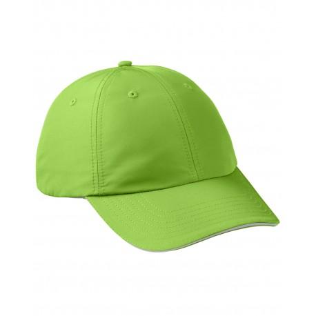 CE001 Core 365 CE001 Adult Pitch Performance Cap ACID GREEN