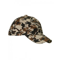 Big Accessories BX018 Unstructured Camo Cap