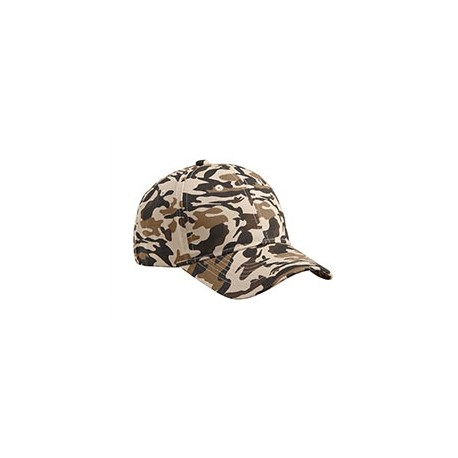 BX024 Big Accessories BX024 Structured Camo Hat DESERT CAMO