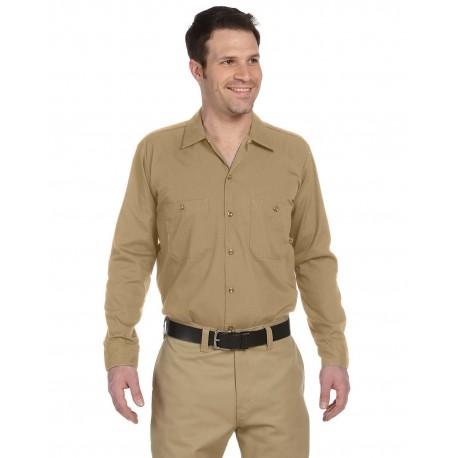 LL535 Dickies LL535 Men's 4.25 oz. Industrial Long-Sleeve Work Shirt DESERT SAND