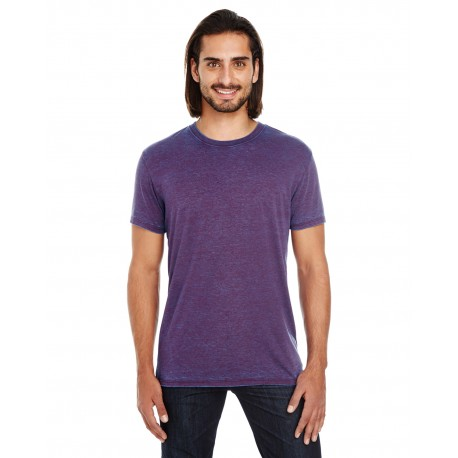 115A Threadfast Apparel 115A Unisex Cross Dye Short-Sleeve T-Shirt BERRY