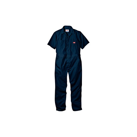33999 Dickies 33999 Men's 5 oz. Short-Sleeve Coverall DK NAVY XL