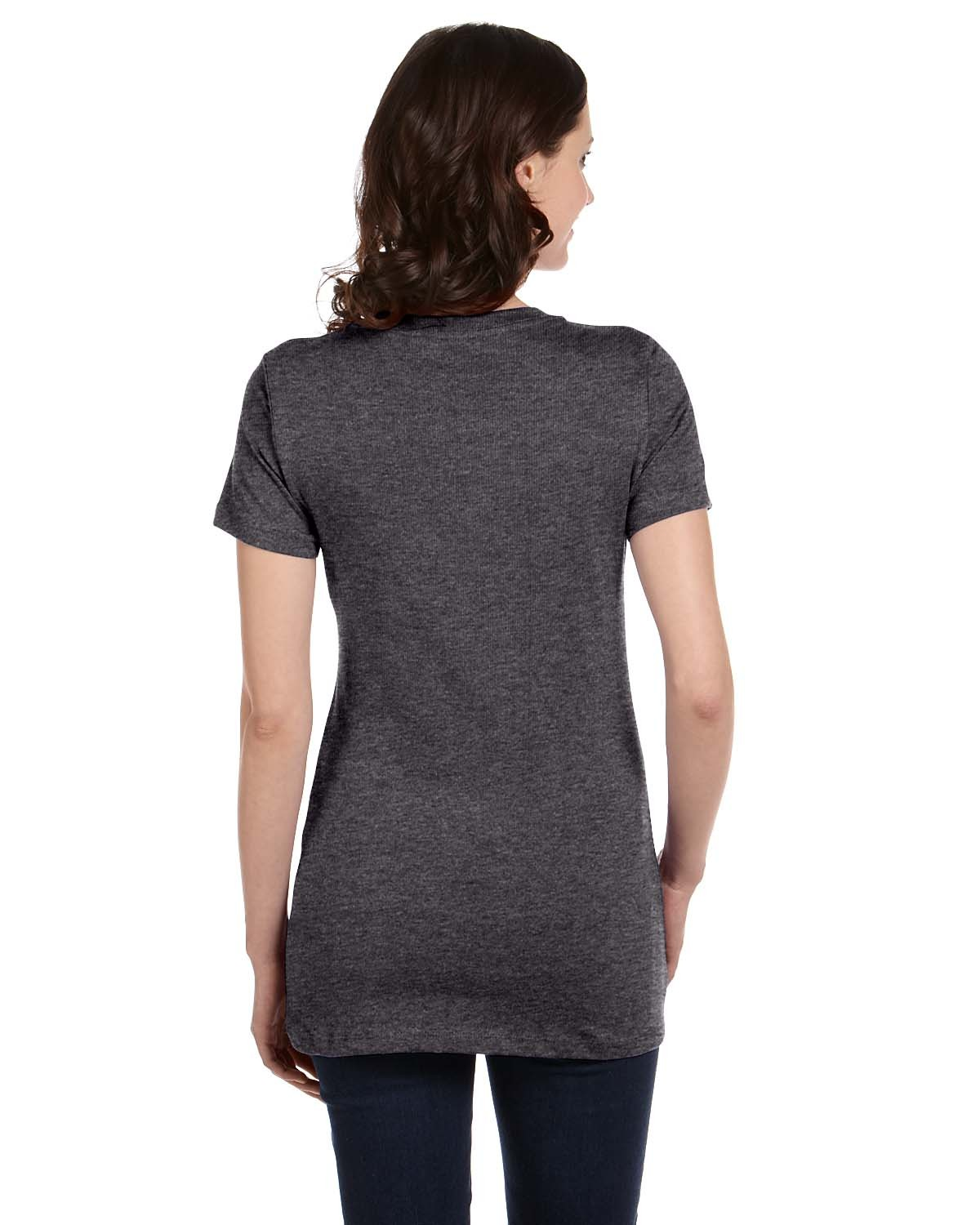 B6035 Bella + Canvas DRK GREY HEATHER