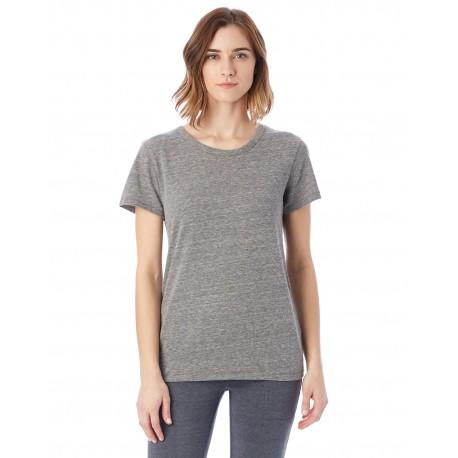 01940E1 Alternative 01940E1 Ladies' Ideal Eco-Jersey T-Shirt ECO GREY