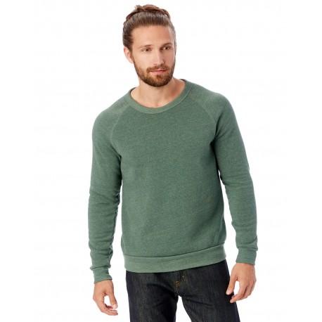 AA9575 Alternative AA9575 Unisex Champ Eco-Fleece Solid Sweatshirt ECO TR DUSTY PNE