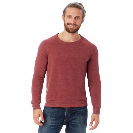 AA9575 Alternative AA9575 Unisex Champ Eco-Fleece Solid Sweatshirt ECO TRUE CURRANT