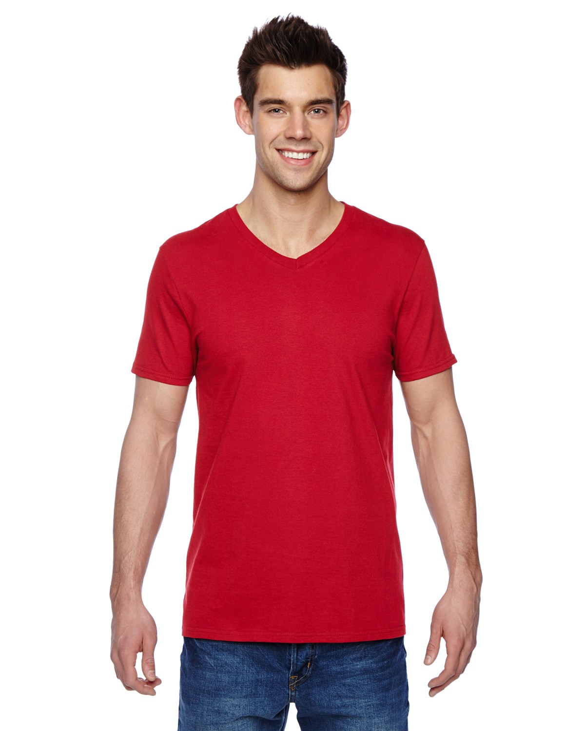 SFVR Fruit of the Loom FIERY RED