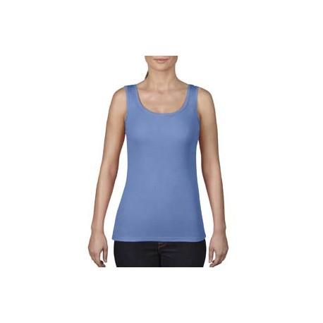 3060L Comfort Colors 3060L Ladies' Midweight Tank FLO BLUE