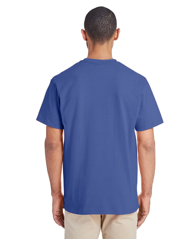 H300 Gildan FLO BLUE
