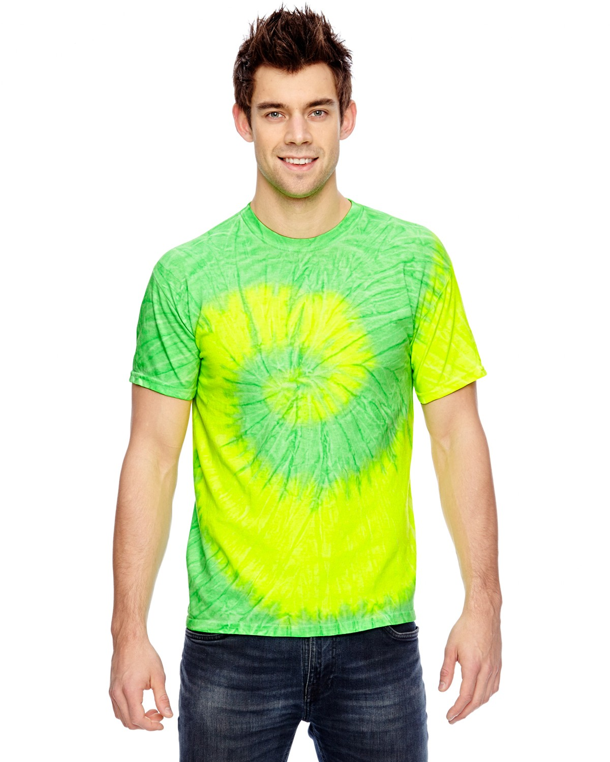 CD100 Tie-Dye FLO YELLOW/LIME