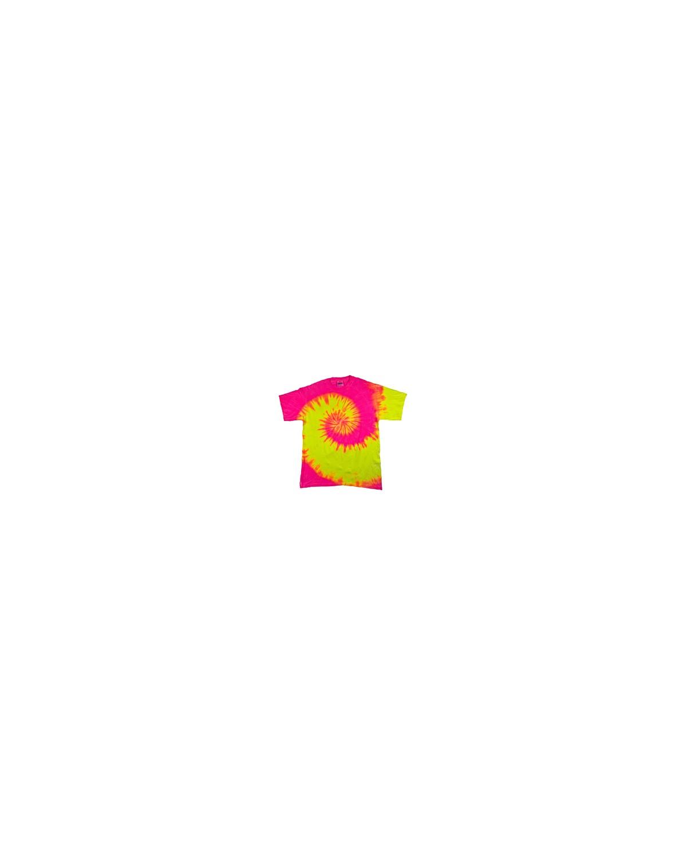 CD100Y Tie-Dye FLRESCENT SWIRL