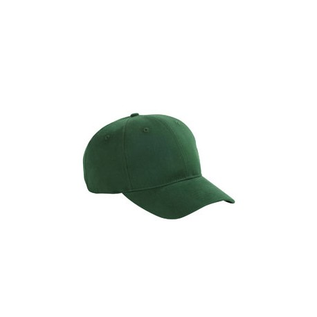 BX002 Big Accessories BX002 6-Panel Brushed Twill Structured Cap FOREST