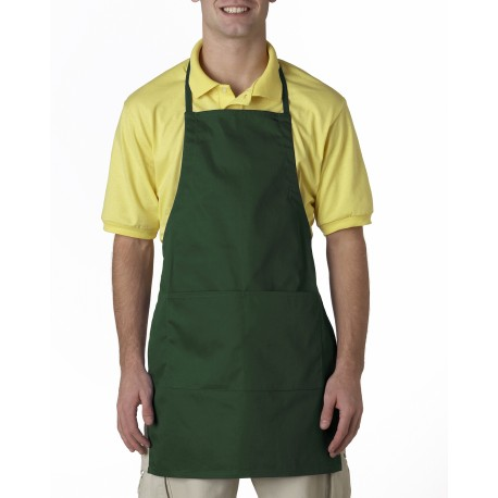 8204 Liberty Bags 8204 Two-Pocket Adjustable Apron FOREST