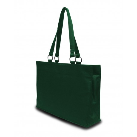 8832 Liberty Bags 8832 Stephanie Large Game Day Tote FOREST