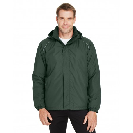 88189 Core 365 88189 Men's Brisk Insulated Jacket FOREST 630