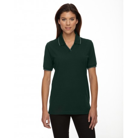 75009 Extreme 75009 Ladies' Cotton Jersey Polo FOREST 630