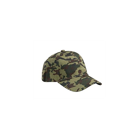 BX024 Big Accessories BX024 Structured Camo Hat FOREST CAMO