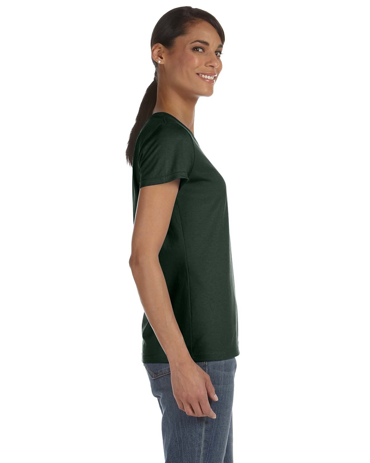 L3930R Fruit of the Loom FOREST GREEN