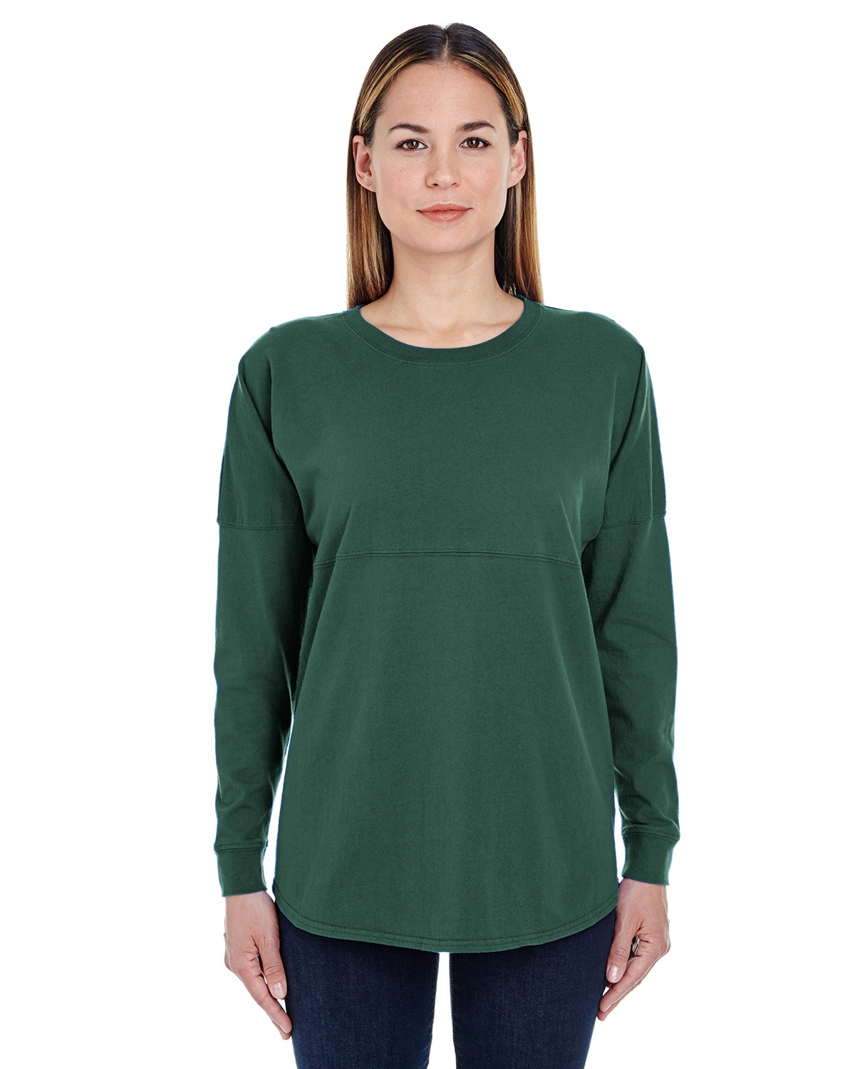 JA8229 J America FOREST GREEN