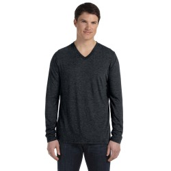 Bella + Canvas 3425 Unisex Jersey Long-Sleeve V-Neck T-Shirt
