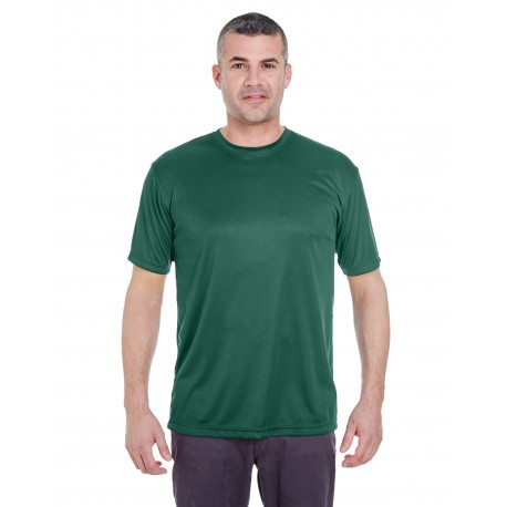 8620 UltraClub 8620 Men's Cool & Dry Basic Performance T-Shirt FOREST GREEN