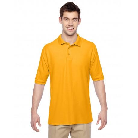 537MSR Jerzees 537MSR Adult 5.3 oz. Easy Care Polo GOLD