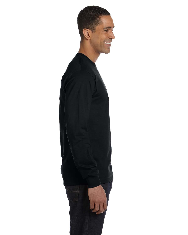 5186 Hanes BLACK