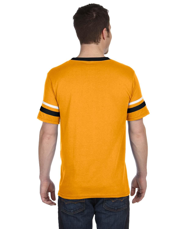 360 Augusta Sportswear GOLD/BLACK/WHT