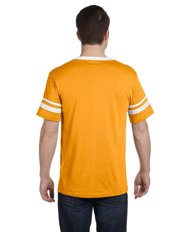 360 Augusta Sportswear GOLD/WHITE