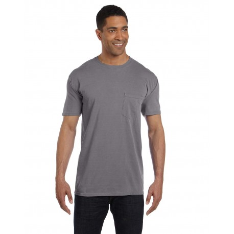 6030CC Comfort Colors 6030CC Adult Heavyweight RS Pocket T-Shirt GRAPHITE