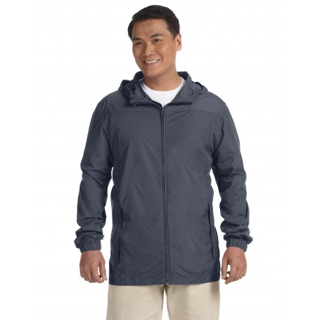 M765 Harriton M765 Men's Essential Rainwear GRAPHITE