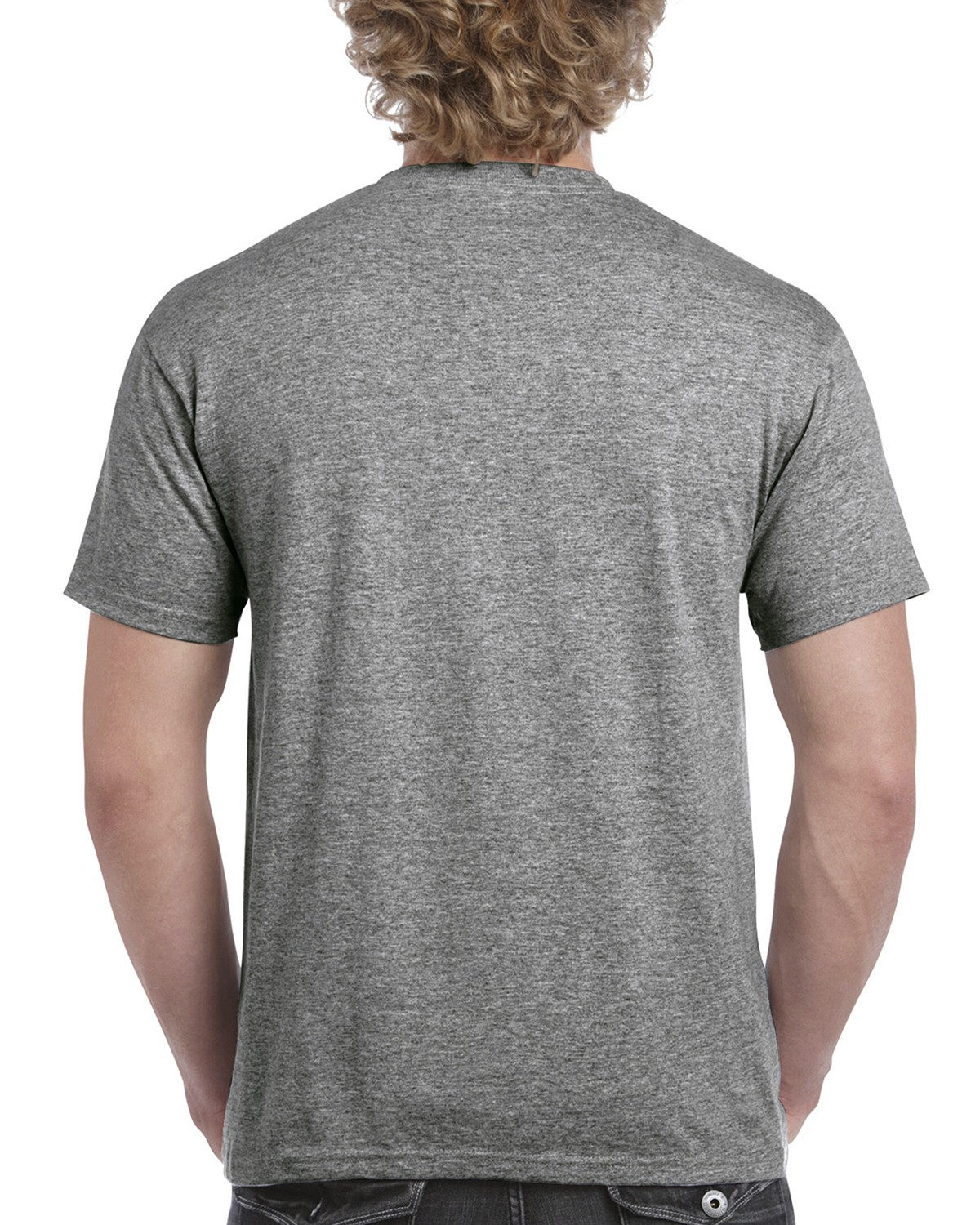 H000 Gildan GRAPHITE HEATHER