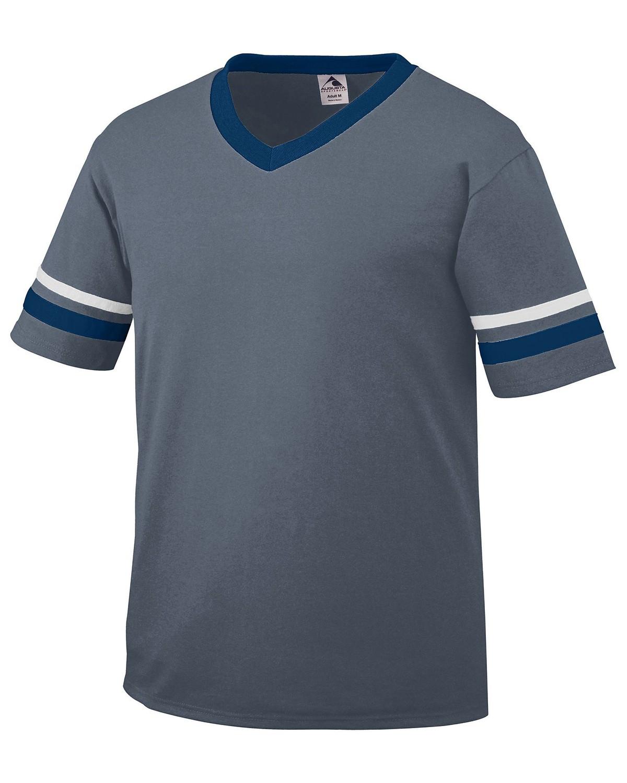 360 Augusta Sportswear GRAPHITE/NV/WH