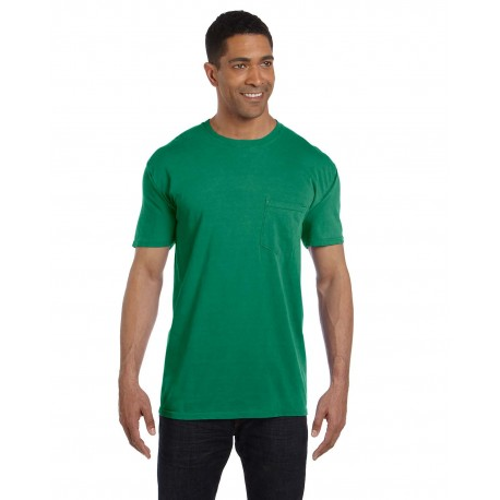 6030CC Comfort Colors 6030CC Adult Heavyweight RS Pocket T-Shirt GRASS