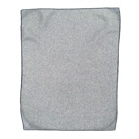 MW18 Pro Towels MW18 Microfiber Waffle Small GRAY/BLACK