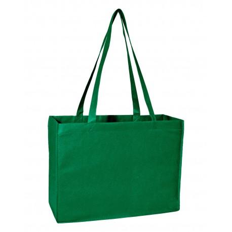 A134 Liberty Bags A134 Non-Woven Deluxe Tote GREEN