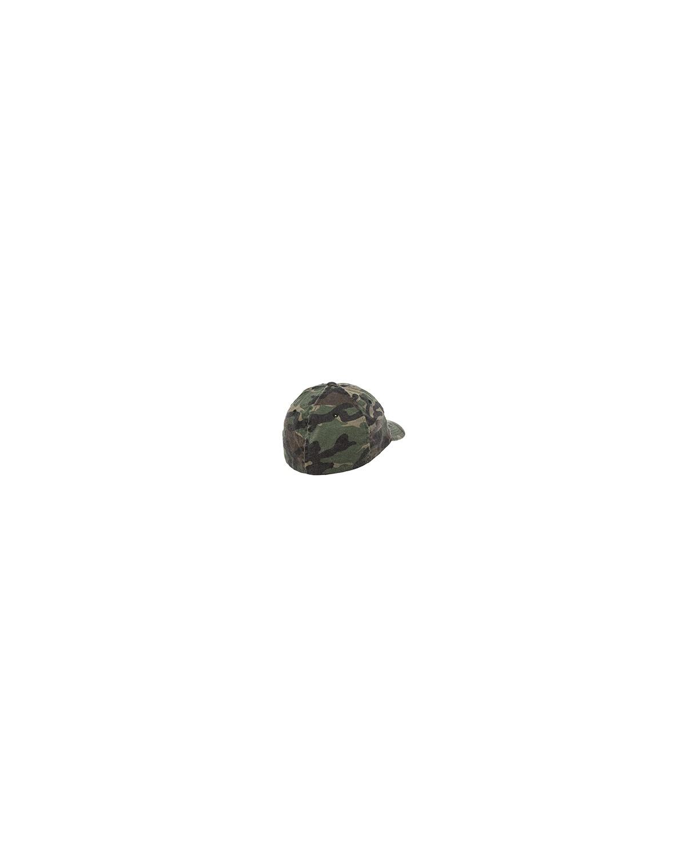 6977CA Flexfit GREEN CAMO