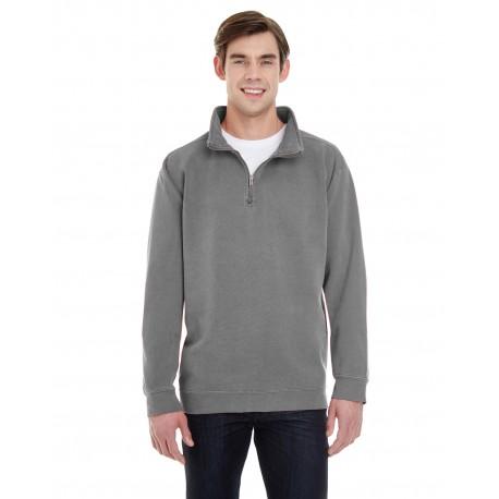 1580 Comfort Colors 1580 Adult Quarter-Zip Sweatshirt GREY