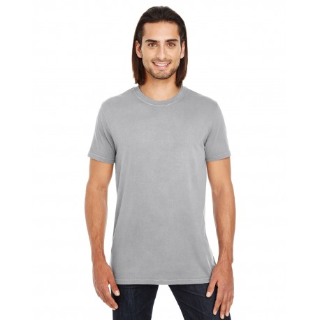 130A Threadfast Apparel 130A Unisex Pigment-Dye Short-Sleeve T-Shirt GREY