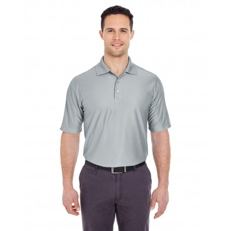 8415T UltraClub 8415T Men's Tall Cool & Dry Elite Performance Polo GREY