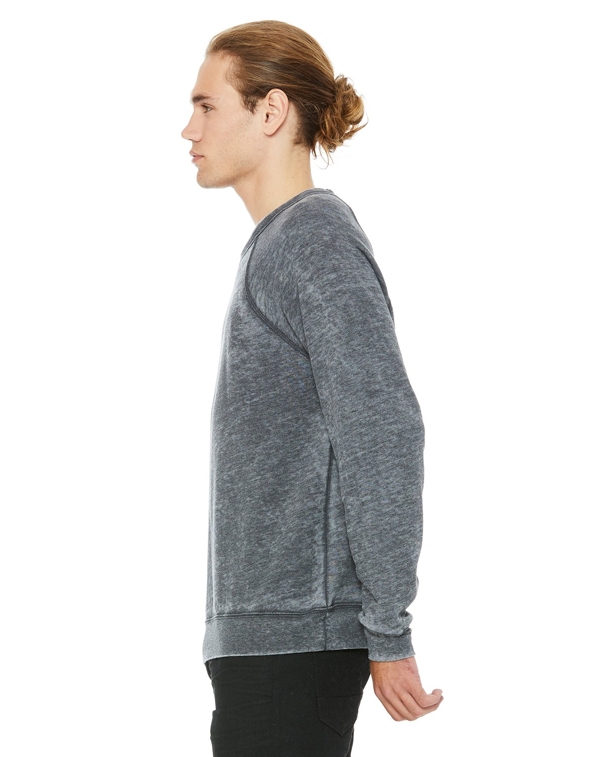 3901 Bella + Canvas GREY ACID FLEECE